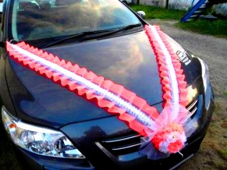 Украшения для машин на свадьбу своими руками с инструкцией и фото