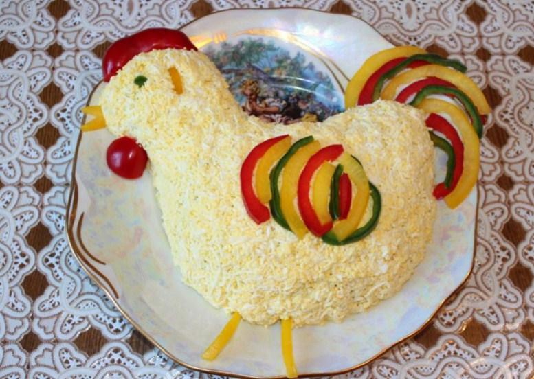Какой салат сделать на корпаратив нового года